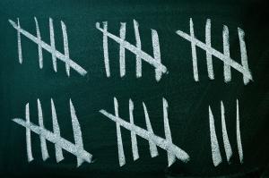 Counting blackboard
